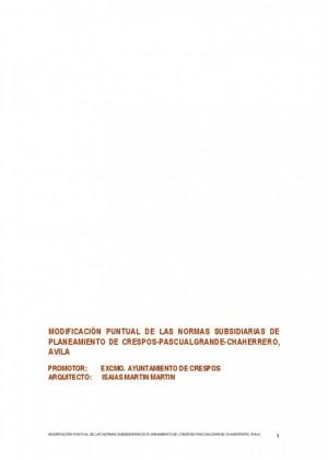 Normas subsidiarias